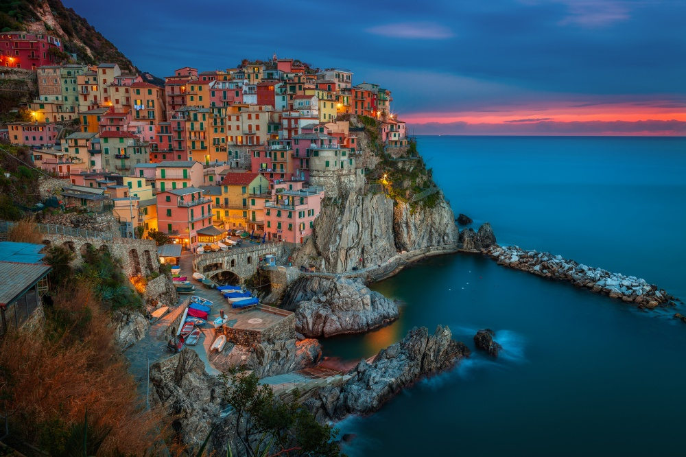 Манарола, Италия
