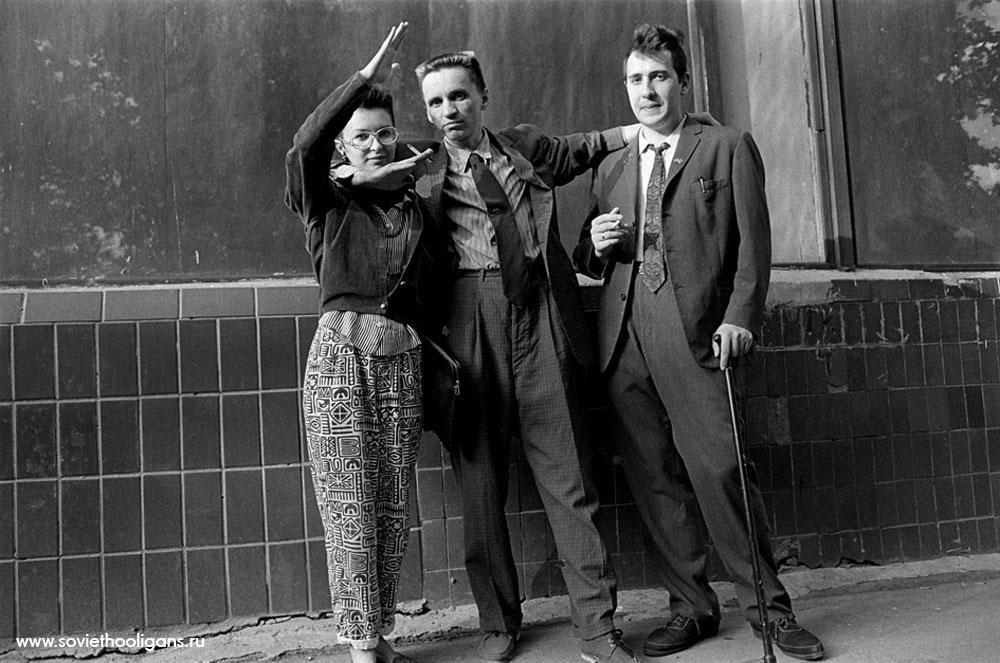 Авария, Гарри Асса, Алан. Фото Асы Кари Франк, Москва, 1987.