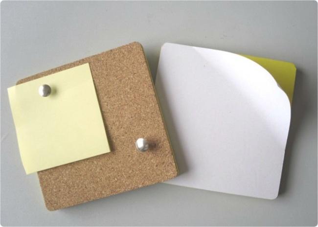 Липкая сторона листков для заметок хорошо подходит для уборки крошек и пыли в труднодоступных местах — например, на клавиатуре.
