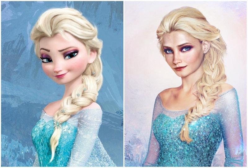 Как выглядели бы диснеевские принцессы в реальной жизни