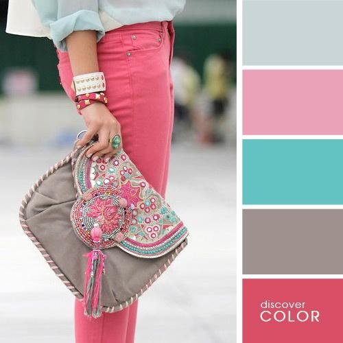 Стильные сочетания цветов этого сезона, обязательные для каждой модницы