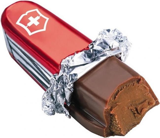 «Армейский» швейцарский шоколад