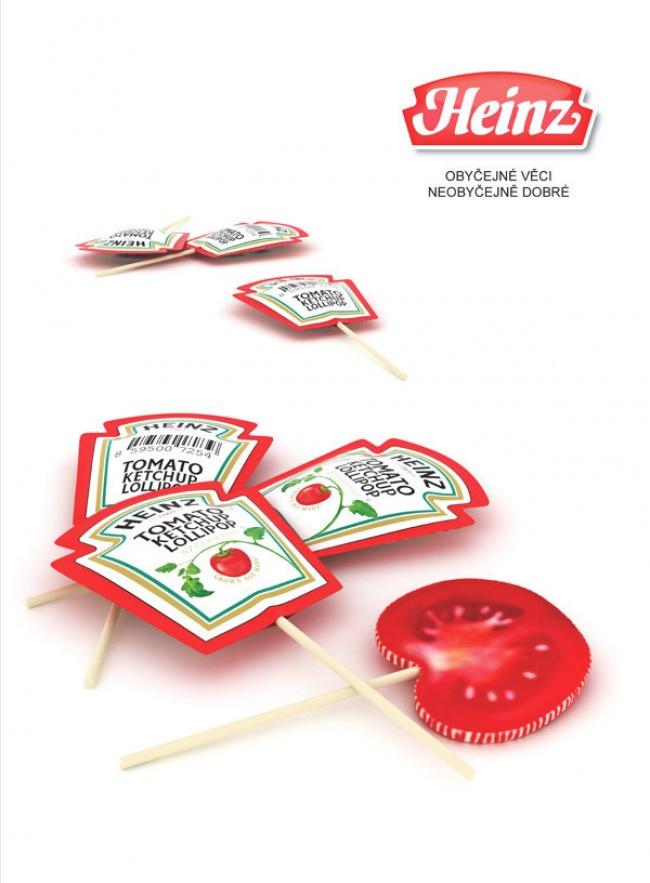 Леденцы со вкусом томатного кетчупа
