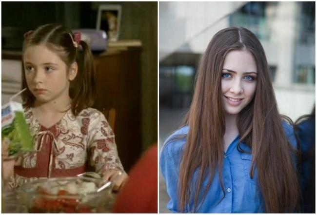 Девочка из рекламы сока «Моя семья» (2003 год)