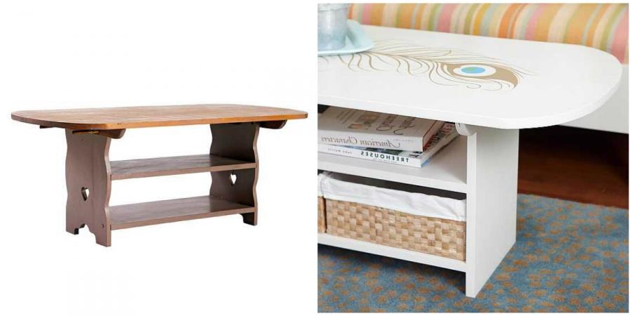 Журнальный столик стал роскошным предметом мебели с восточными мотивами
