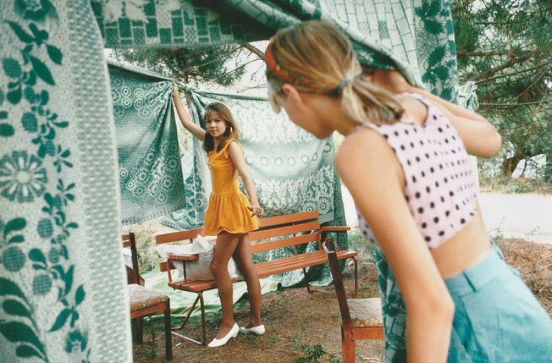 Лагерь «Полевой», 1994 год.