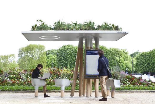 Зеленая Wi-Fi-станция