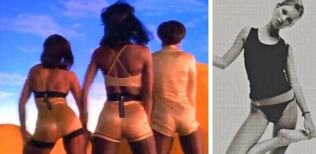 В конце XX века рождается стиль «унисекс», приходит мода на болезненную худобу и неопрятную одежду: свитер на два размера больше, джинсы, порванные на коленях. Секс-символы этого периода — Кейт Мосс, Вайнона Райдер — худые, невысокие, без выраженных округлостей.