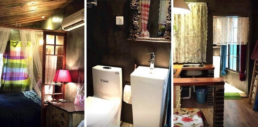 Место: Сюйхуэй. 1 спальня. Небольшое джакузи.