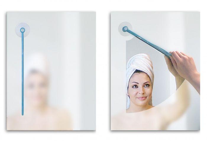 Дворники для зеркала в ванной комнате