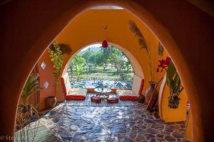 Уникальный и дешёвый дом построен Стивом Ареном.