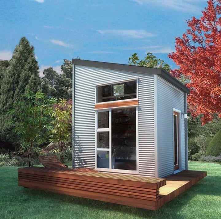 Дизайн дома для одного человека