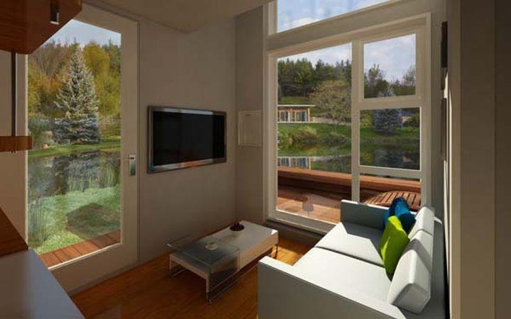 Менее чем за 30 000 долларов можно стать владельцем такого автономного дома.