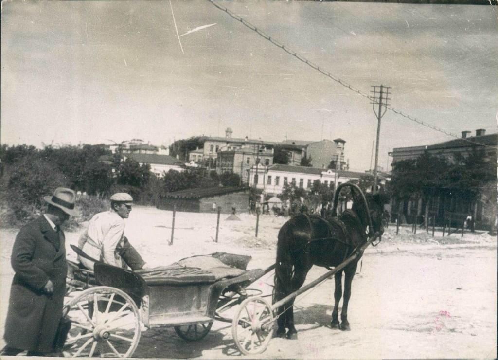 Севастополь. Местное такси. 1929 год.