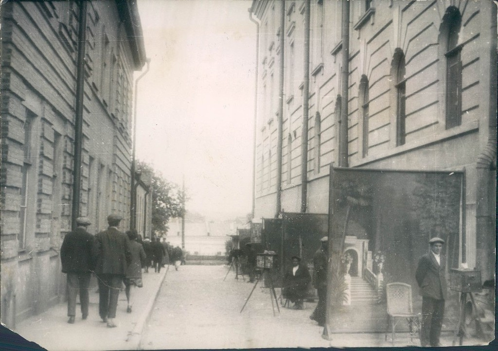 На улицах Харькова. 1930-е.