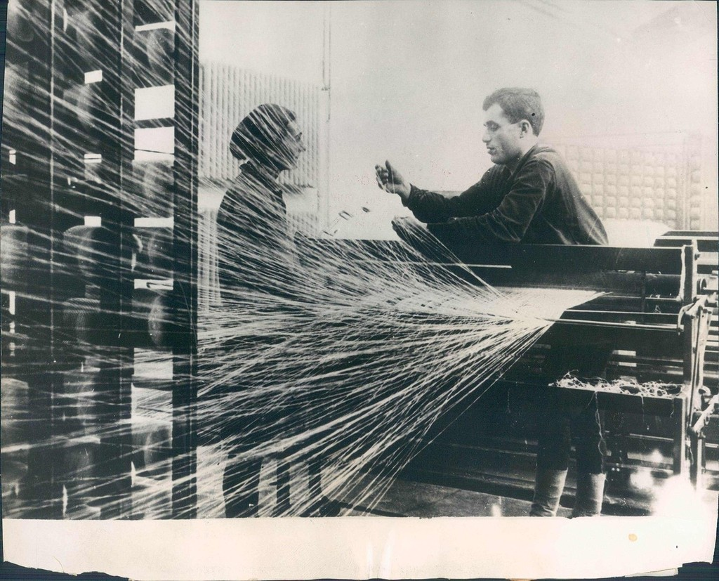 Текстильная фабрика в Тифлисе. 1931 год.