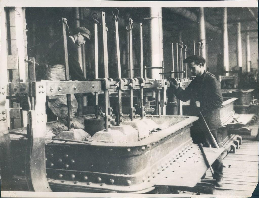 Ленинградский алюминиевый завод. 1932 год.