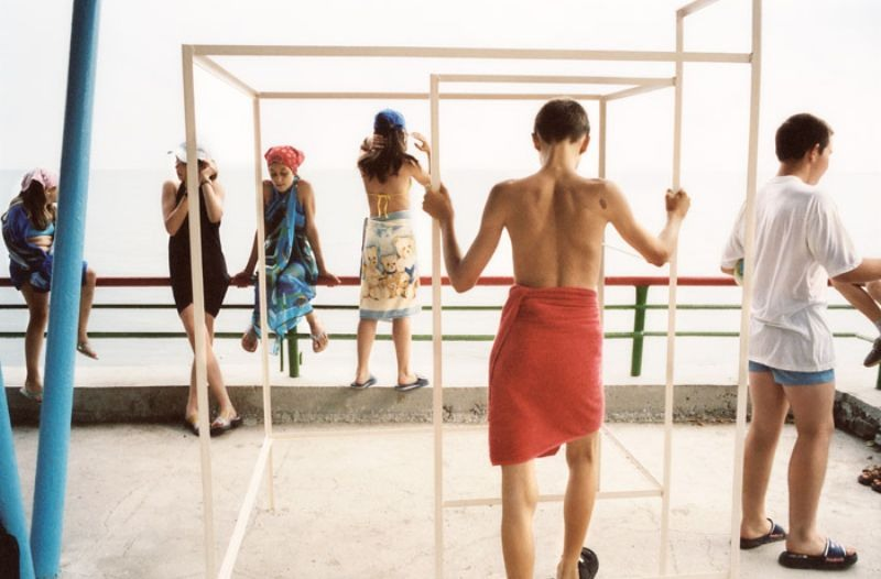 Пляж, 2003 год.