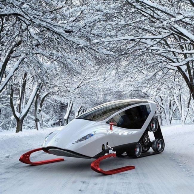 Среди обычных снегоходов Snow Crawler является тем, чем среди обычных авто является Lamborghini.