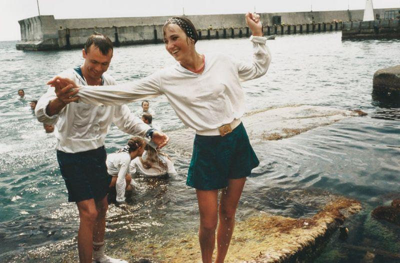Сергей и Лена, 1994 год.