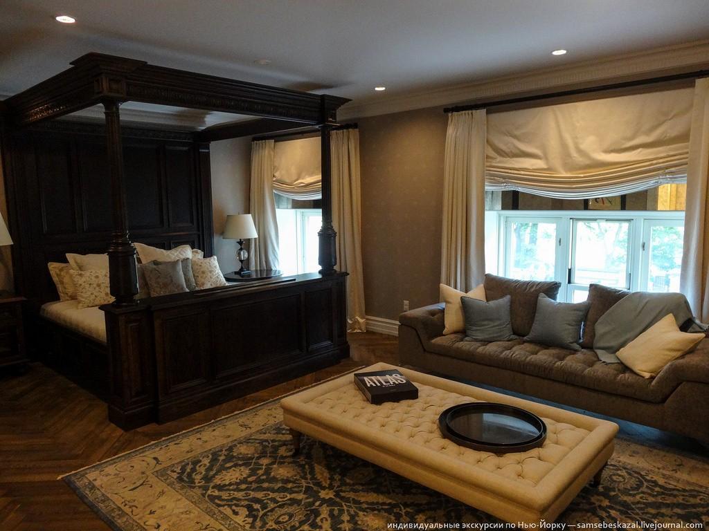 Хозяйская спальня.