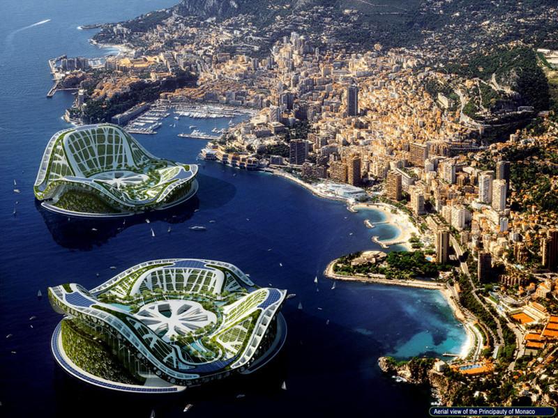 Многие страны пытаются копировать Дубай - например, Монако