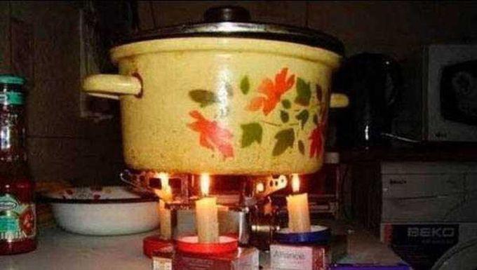 20. Ужин на свечах