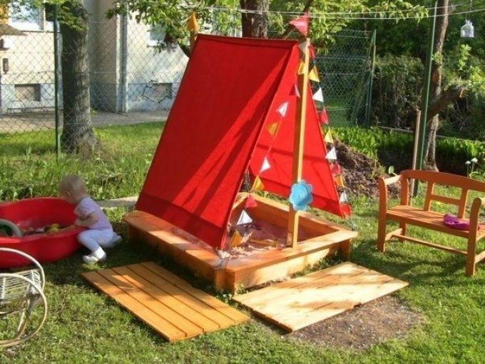 Детская площадка - песочница