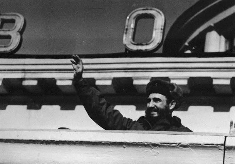 Мурманск встречает Фиделя. Именно здесь начинается официальный визит кубинского лидера