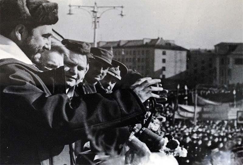 На митинге в Мурманске