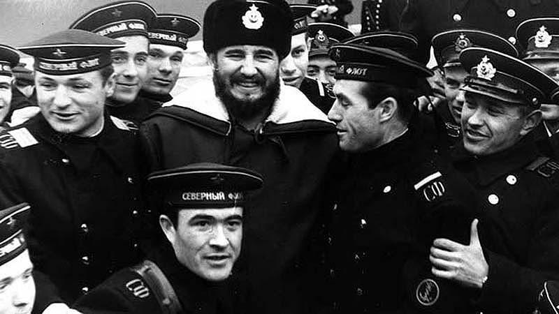 В Североморске с моряками Северного морского флота