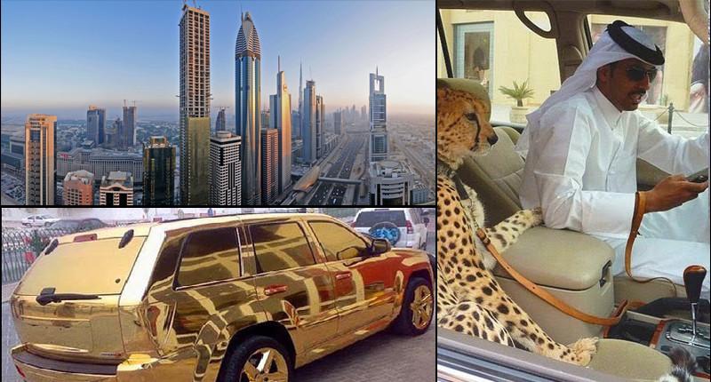 Вся роскошь Дубая в фотографиях