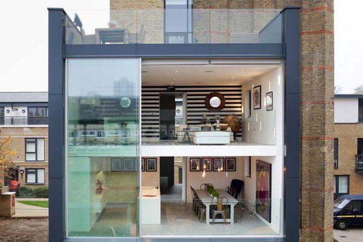 Лей Осборн и Грэхем Войс превратили водонапорную башню в шикарный жилой дом в центре Лондона.