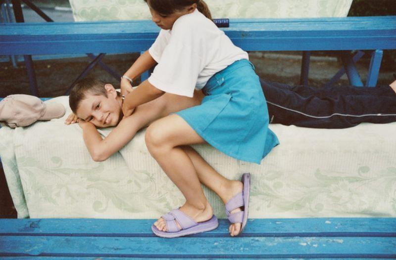 Лагерь «Полевой», 2003 год.