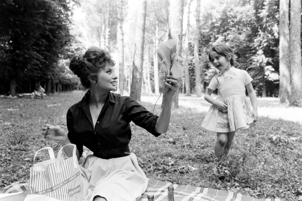 На отдыхе, 1961 год
