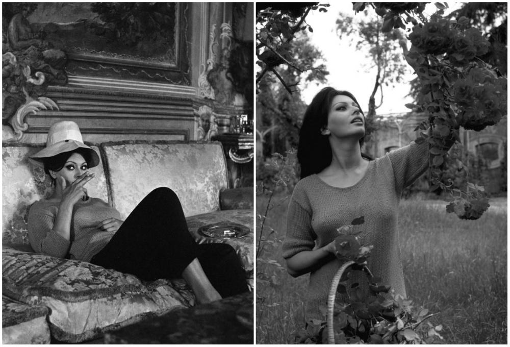 На вилле в Италии, 1964 год