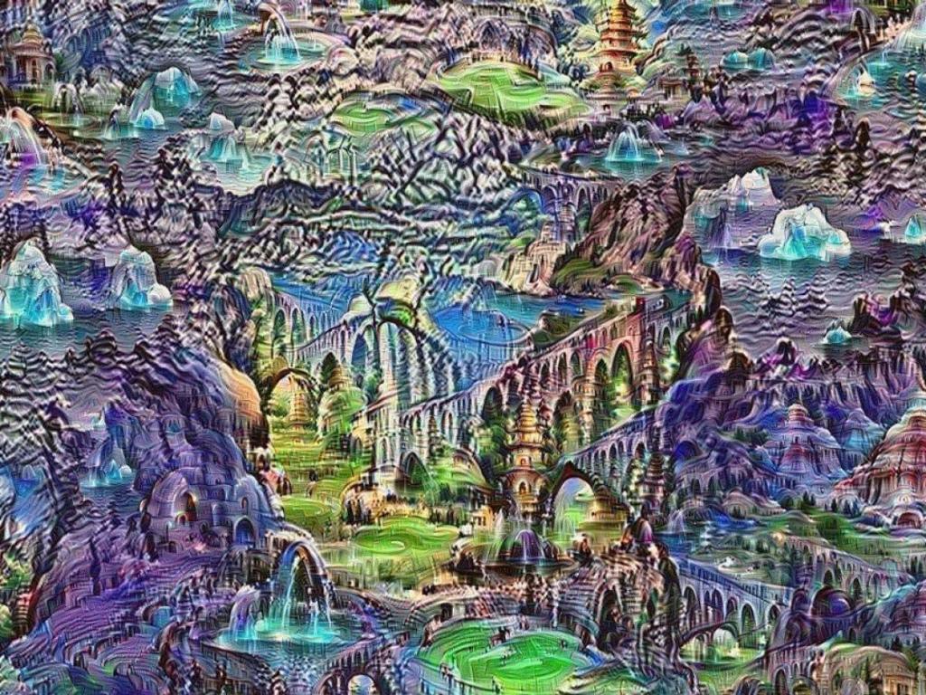 Исследователи Google говорят о таких случайно генерируемых изображениях как о «снах» искусственной нейронной сети.