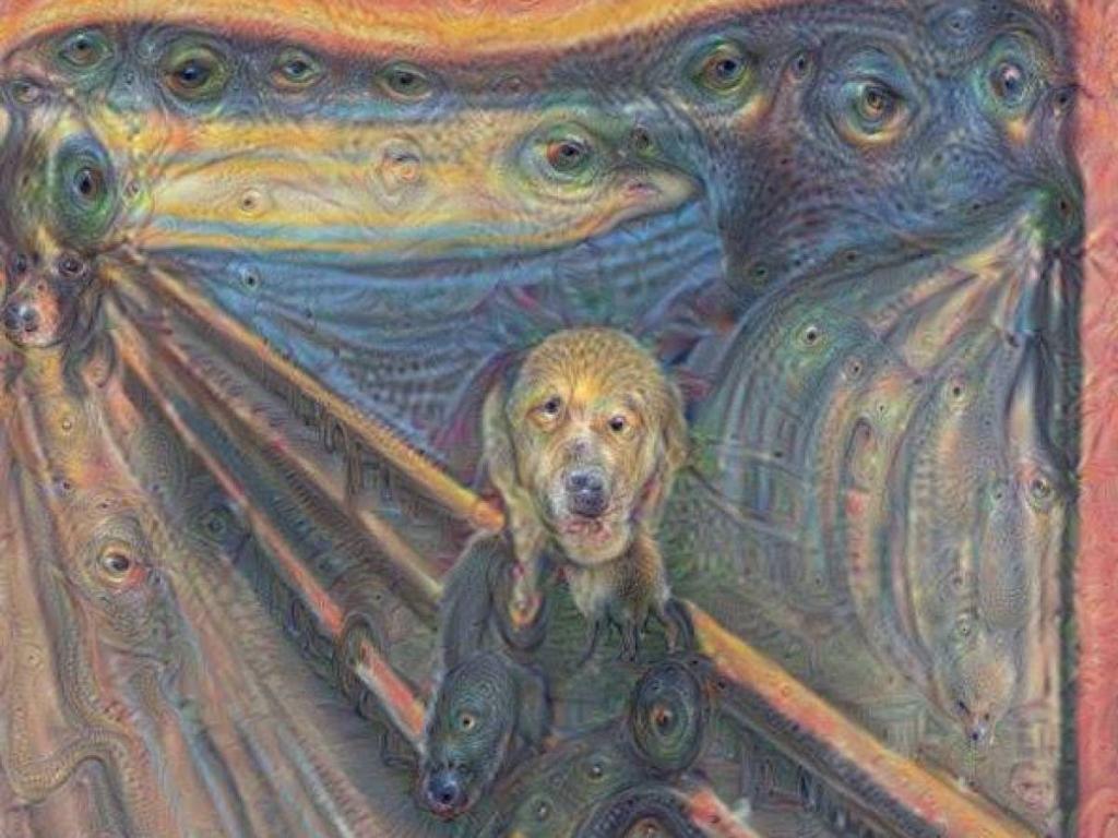 Картины, которые нарисовал искусственный интеллект, созданный Google