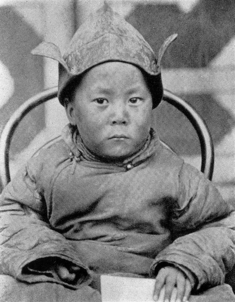 В возрасте 4-х лет, 1939 год