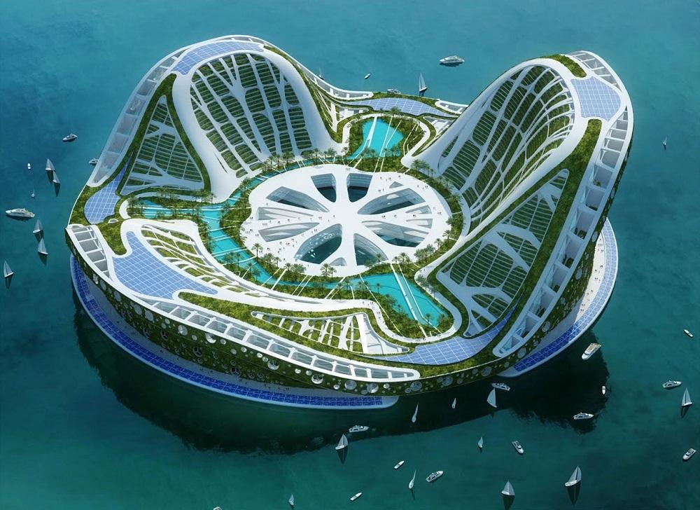 Самые удивительные нереализованные проекты городов будущего