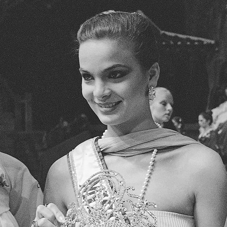 Марица Сайалеро, Венесуэла. «Мисс Вселенная — 1979». 18 лет, рост 173 см, параметры фигуры 90−60−90.