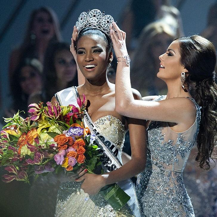 Лейла Лопес, Ангола. «Мисс Вселенная — 2011». 25 лет, рост 179 см, параметры фигуры 89−60−90.