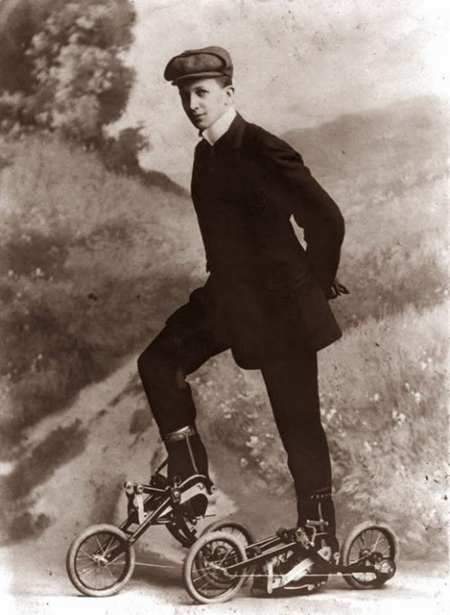 Педальные ролики. 1910 год.