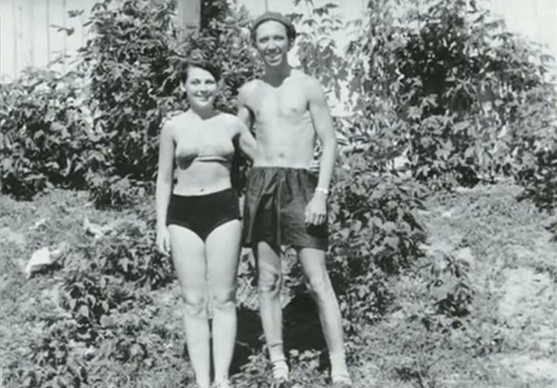 Юрий Никулин с супругой в Уфе, фото из архива Татьяны Никулиной