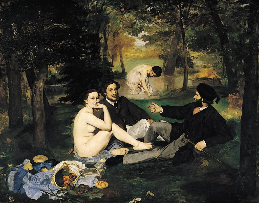 Художников Эдуарда Мане и Клода Моне иногда путают — ведь они оба были французами, жили в одно время и творили в стиле импрессионизма. Даже название одной из самых известных картин Мане «Завтрак на траве» Моне позаимствовал и написал свой «Завтрак на траве».