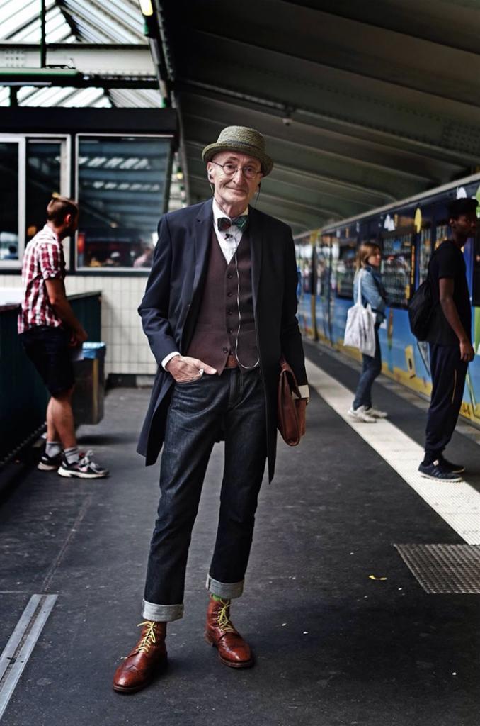 104-летний Гюнтер Краббенхёфт — самый стильный пенсионер в мире