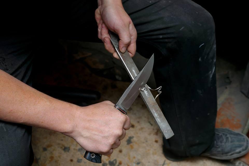 Ковка ножей в домашних условиях