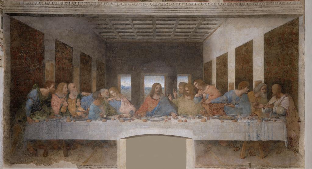 Когда Леонардо да Винчи писал «Тайную вечерю», он придавал особое значение двум фигурам: Христа и Иуды. Он очень долго искал натурщиков для них. Наконец, ему удалось найти модель для образа Христа среди юных певчих. Подобрать натурщика для Иуды Леонардо не удавалось в течение трех лет. Но однажды он наткнулся на улице на пьяницу, который валялся в сточной канаве. Это был молодой мужчина, которого состарило беспробудное пьянство. Леонардо пригласил его в трактир, где сразу же начал писать с него Иуду. Когда пьяница пришел в себя, он сказал художнику, что однажды уже позировал ему. Это было несколько лет назад, когда он пел в церковном хоре, Леонардо писал с него Христа.