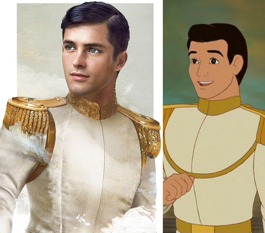 Прекрасный принц из «Золушки»