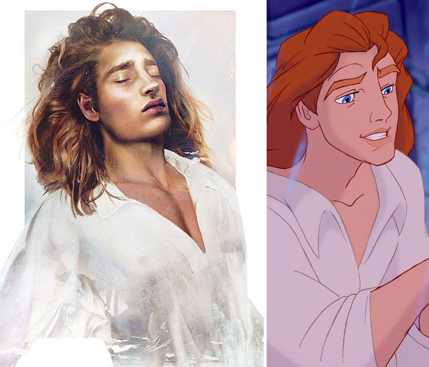 Принц Адам из мультфильма «Красавица и чудовище»